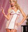 R247 Costum tematic asistenta - Lenjerii tematice - Haine > Haine Femei > Lenjerie intima > Lenjerii tematice