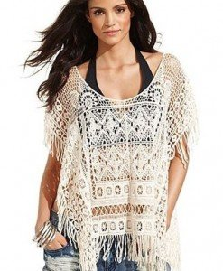 RV110 Bluza brodata pentru plaja - Costume de plaja - Haine > Haine Femei > Costume de baie > Costume de plaja
