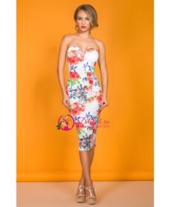 Rochie Floral Glam - Rochii///Rochii de seara - 0