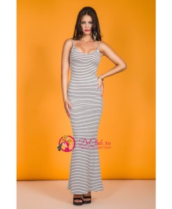 Rochie Stylish Striped - Rochii///Rochii de seara - 0