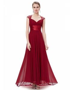 Rochii Red Sequins - Rochii///Rochii de lux - 0