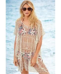 Rochii de plaja Crochet-knit - Rochii///Rochii de plaja - 0
