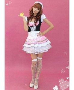 S310 Costum tematic menajera - Menajera - Haine > Haine Femei > Costume Tematice > Menajera