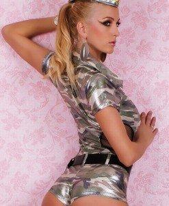 S91 Costum tematic soldat armata - Armata - Marinar - Haine > Haine Femei > Costume Tematice > Armata - Marinar