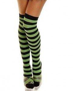 STK111-12 Ciorapi sexi cu dungi colorate - Ciorapi dama - Haine > Haine Femei > Ciorapi si manusi > Ciorapi dama