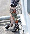 STK18 Ciorapi cu tatuaj - Ciorapi cu tatuaj - Haine > Haine Femei > Ciorapi si manusi > Ciorapi cu tatuaj