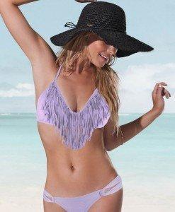 SW171-11 Costum de Baie cu Franjuri - Costume de baie 2 piese - Haine > Haine Femei > Costume de baie > Costume de baie 2 piese