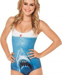 SW301 Costum de baie intreg model shark - Costume de baie intregi - Haine > Haine Femei > Costume de baie > Costume de baie intregi