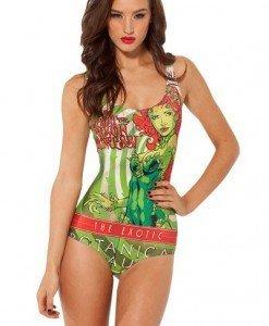 SW413 Costum de baie intreg cu model - Costume de baie intregi - Haine > Haine Femei > Costume de baie > Costume de baie intregi