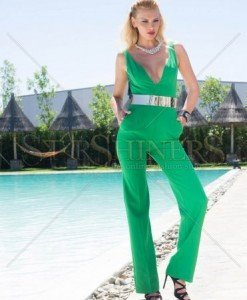Salopeta Artista Being Fashion Green - Salopete -