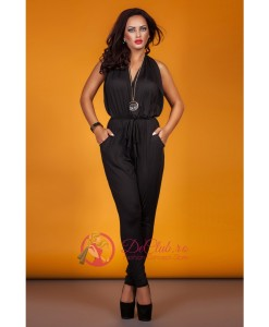 Salopeta Black Backless - Salopete - 0