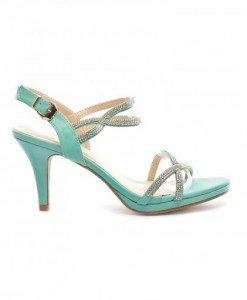 Sandale Alyda Verzi - Sandale cu toc - Sandale cu toc