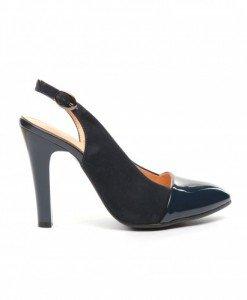 Sandale Antono Bleumarin - Sandale cu toc - Sandale cu toc