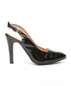 Sandale Antono Negre - Sandale cu toc - Sandale cu toc