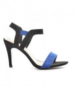 Sandale Aprig Albastre - Sandale cu toc - Sandale cu toc