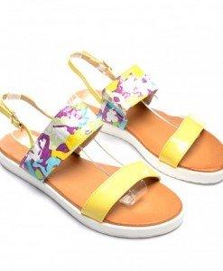 Sandale Aygo Galbene - Sandale - Sandale