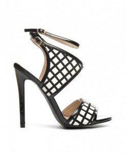 Sandale Babio Negre - Sandale cu toc - Sandale cu toc