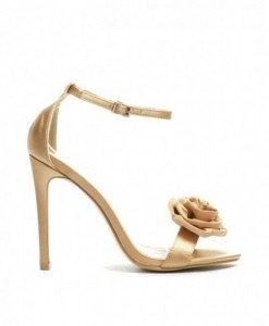 Sandale Bimarc Aurii - Sandale cu toc - Sandale cu toc