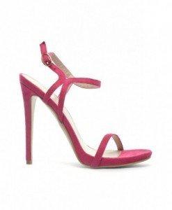 Sandale Bony Fuchsia - Sandale cu toc - Sandale cu toc