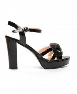 Sandale Dario Negre - Sandale cu toc - Sandale cu toc