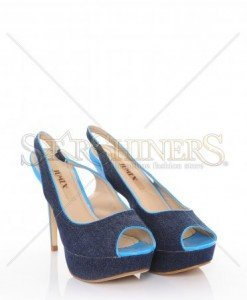 Sandale Denim Look Blue - Incaltaminte -