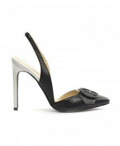 Sandale Elis Negre - Sandale cu toc - Sandale cu toc
