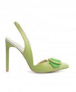 Sandale Elis Verzi - Sandale cu toc - Sandale cu toc