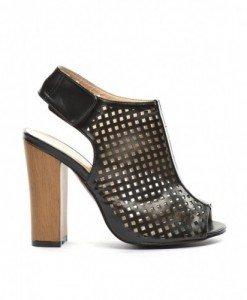 Sandale Emy Negre - Sandale cu toc - Sandale cu toc
