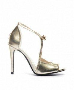 Sandale Focus Aurii - Sandale cu toc - Sandale cu toc