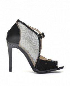 Sandale Focus Negre - Sandale cu toc - Sandale cu toc