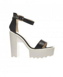 Sandale Fred Negre - Sandale cu toc - Sandale cu toc