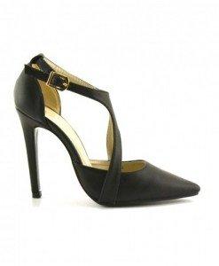 Sandale Galano Negri2 - Sandale cu toc - Sandale cu toc