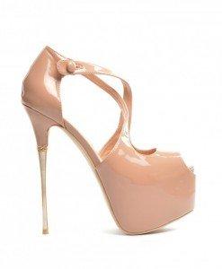 Sandale Handora Nude 2 - Sandale cu toc - Sandale cu toc