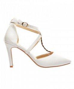Sandale Honsa Albe - Sandale cu toc - Sandale cu toc