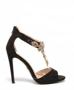 Sandale Human Aurii - Sandale cu toc - Sandale cu toc