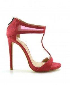 Sandale Hyra Roz - Sandale cu toc - Sandale cu toc
