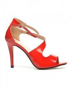 Sandale Jack Rosii - Sandale cu toc - Sandale cu toc