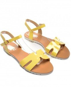 Sandale Kalifa Galbene - Sandale - Sandale