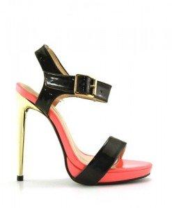 Sandale Kango Roz - Sandale cu toc - Sandale cu toc