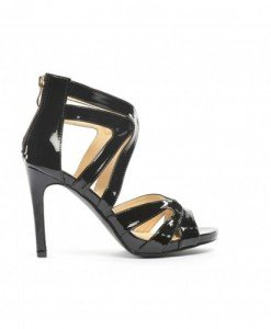 Sandale Lexu Negre - Sandale cu toc - Sandale cu toc