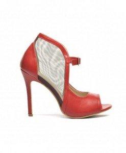 Sandale Luna Rosii - Sandale cu toc - Sandale cu toc
