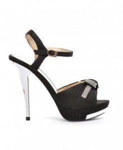 Sandale Make Negre - Sandale cu toc - Sandale cu toc