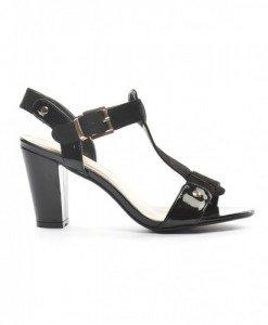 Sandale Marika Negre - Sandale cu toc - Sandale cu toc