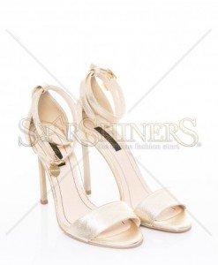 Sandale Mineli Boutique Glamorous Gold - Sandale -