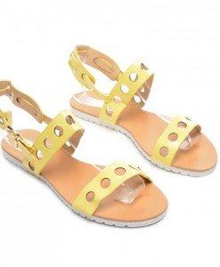 Sandale Moto Galbene - Sandale - Sandale