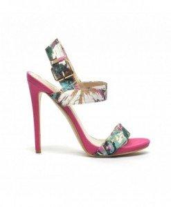 Sandale Pamo Roz - Sandale cu toc - Sandale cu toc