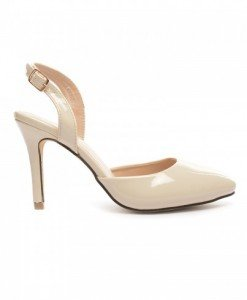Sandale Raisa Bej - Sandale cu toc - Sandale cu toc