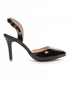 Sandale Raisa Negre - Sandale cu toc - Sandale cu toc