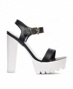 Sandale Ritmo Negre 2 - Sandale cu toc - Sandale cu toc