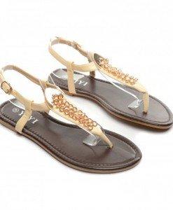Sandale Teo Bej - Sandale - Sandale